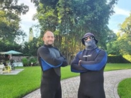 lake cleaning company wet suits